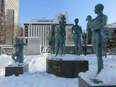 積雪があっても、札幌駅周辺は便利!