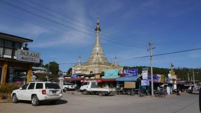 ミャンマー カローの朝市 2019
