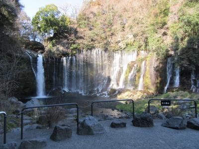 白糸の滝と音止の滝を訪ねる