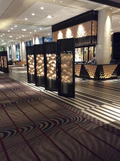 またグランドプリンスホテル新高輪に宿泊しました。