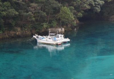 上五島桐教会から見た海