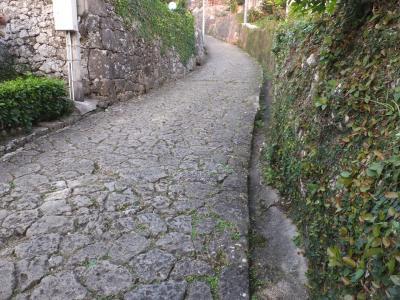 玉陵と金城町石畳の道