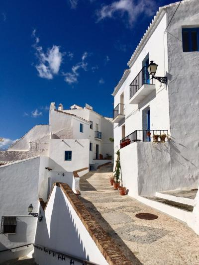 スペイン旅行  激安+プチ冒険 白い村 フリヒリアナ 2
