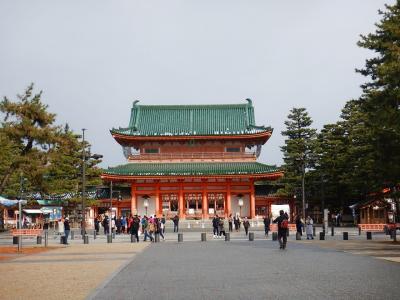 雪の京都を歩く