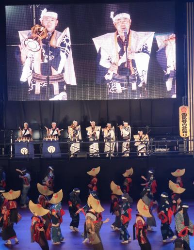 ふるさと祭り東京12(秋田/羽後)西馬音内盆踊りa 神秘的で優美 ☆日本三大盆踊りの一
