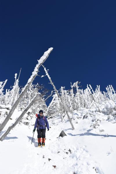 蓼科山 八ヶ岳BLUE