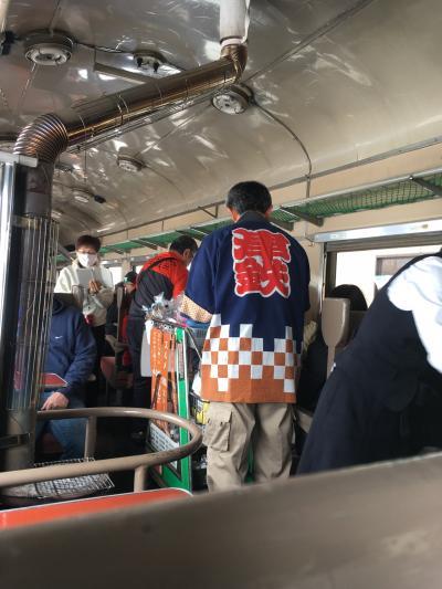 初めての青森でストーブ列車