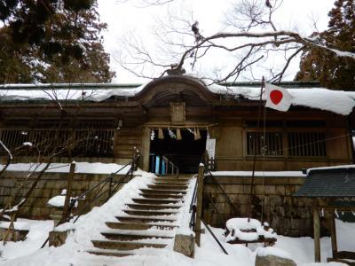 雪の愛宕山と京都冬の旅とトラりんと