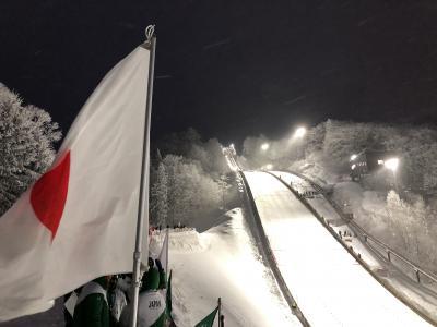 女子ジャンプWC観戦&スキー