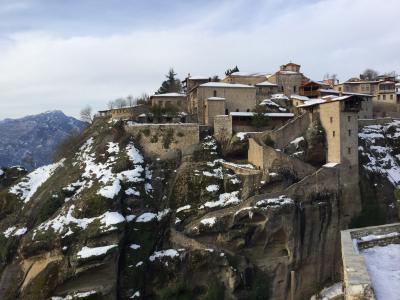 ツアーで知り合った人と2年ぶりにギリシャへ(メテオラの修道院)