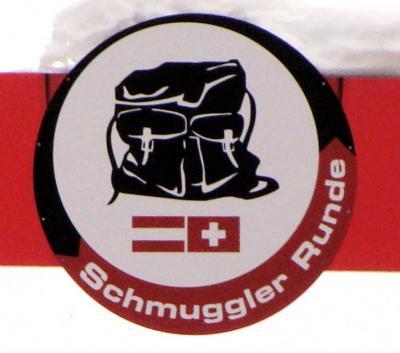 シルヴレッタ山群を滑る ! 密輸ルート Schmuggler Runde Gold に挑戦