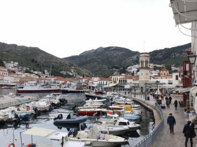 ギリシャはアテネ・メテオラ修道院・エーゲ海クルーズ(1日クルーズ イドラ島)