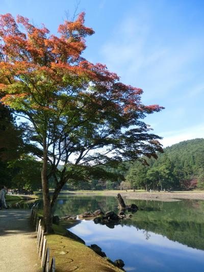 秋の東北周遊(9)平泉で平安の雅を味わい 猊鼻渓では渓谷美を堪能