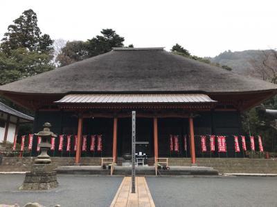 厚木から伊勢原の日本三薬師 日向薬師神社へ