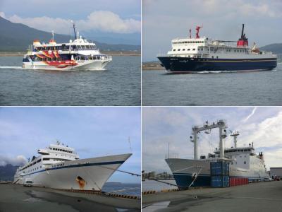 悪天候に振り回された離島航路旅・その2.予定変更!鹿児島港をぶらぶらして時間を潰す。