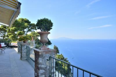 しつこいパピーは、3度目の南イタリア (PART6 カプリ島 ホテル「チェーザレ・アウグストゥス」編)