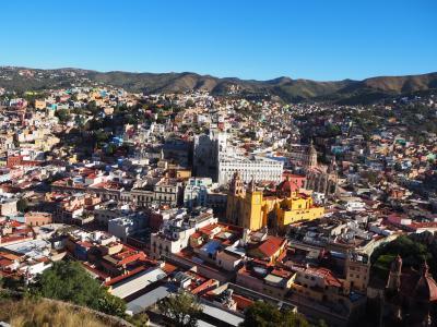長期勤続ご褒美休暇で初中南米&スペイン語圏のメキシコ世界遺産巡り ④約6時間のバス移動でたどり着いたグアナファトは、ハードル上げ過ぎた?