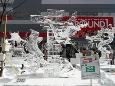 ☆ 2020年 1月 初めての冬の北海道 雪まつり ☆ すすきの アイスワールド2019Part 2