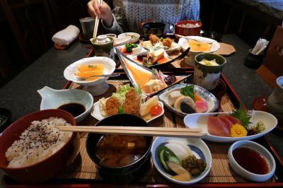 02.岳鉄沿線を楽しむ富士日帰り 日本料理はせ川の昼食