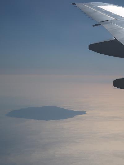 富津岬上空 JAL113便-33A 大阪/伊丹行 視界良好 ☆房総半島・伊豆大島も見え