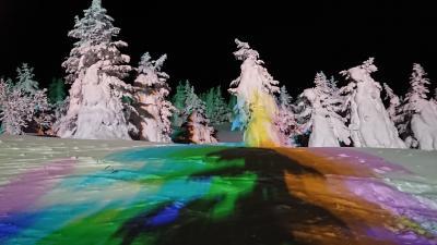蔵王の樹氷を見るバスツアーに参加しました  1日目