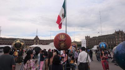 ANA直行便。CDMX(Mexico City)で寝て過ごしました ー2日目・歴史地区を軽く観光編ー