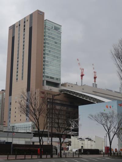 大阪駅⇒船津橋 ホテルNCB・バス終点前で ☆駅構内は複雑//乗り換えを事前確認