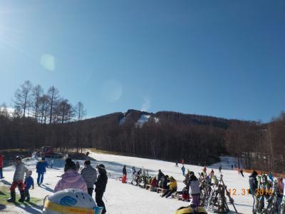 雪がなかった年末スキー