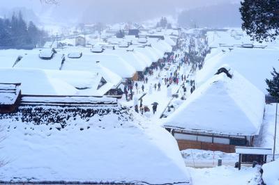 大内宿 雪まつり!