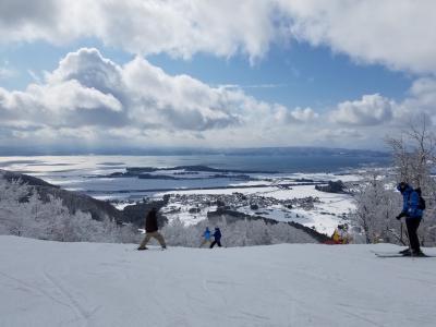 リステル猪苗代で手ぶらスキー