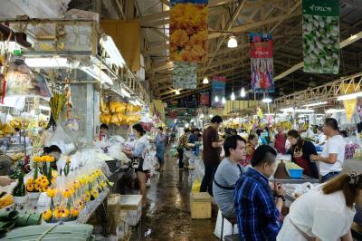 2度目のバンコク出張 合間に観光 ①ワンラン市場、パークローン市場、ソンブーン・サイアム店