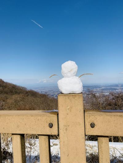初めての雪山歩き ー ゆるゆる筑波山