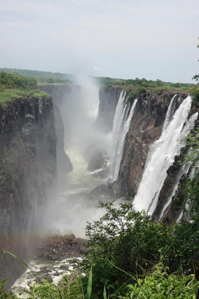 ヴィクトリアの滝、南部アフリカの旅(3)ザンビア