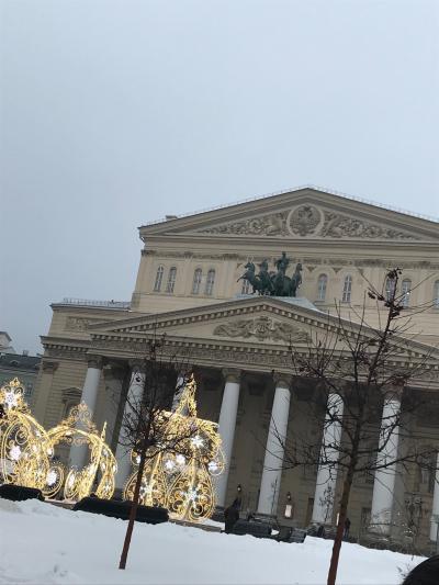 モスクワにバレエ研修