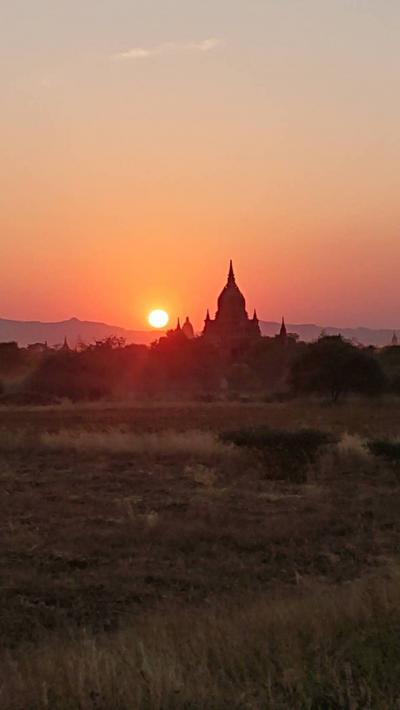 クアラルンプール&ミャンマー9日間⑥バガン遺跡その2