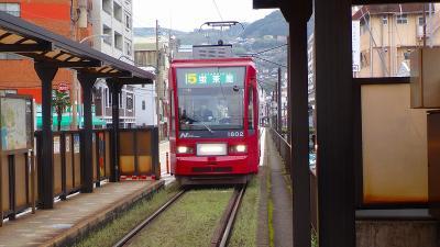 ハウステンボスと長崎ランタンの3日間(11) 長崎市南山手地区で2時間の自由散策は諏訪神社の参拝へ。