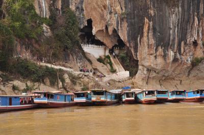 ルアンプラバンの旅第3回ゆったりメコン川クルーズ