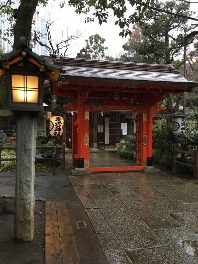 【街歩き】雪と神社と東京タワーと