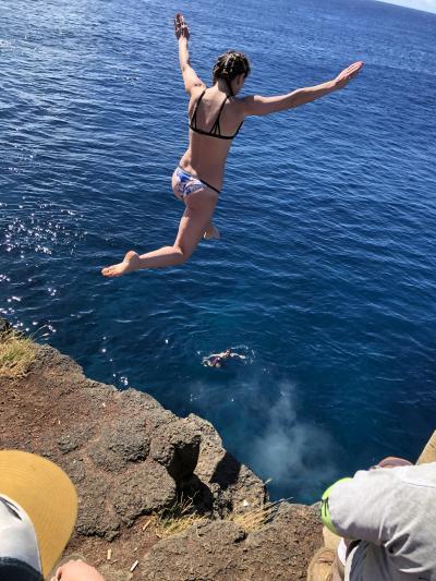 2019,1月 初めてのハワイはハワイ島から レンタカーで島巡りをしてみました。№5サウスポイント、黒砂海岸、ヒロ