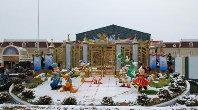2019年2月・雪が舞うグランドフィナーレの東京ディズニーリゾートへ!