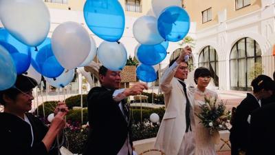 ハッピーウェディング、「ホテルオークラ東京ベイ」で長男の結婚式!