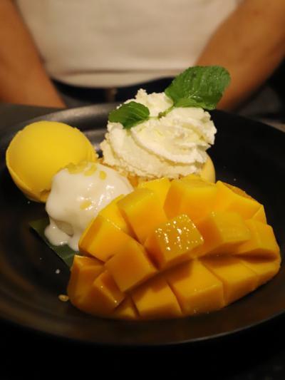 ☆☆ Bangkok Vacation ♪ ① ☆☆ ~~ プー パッ ポン カリー ・マンゴー & チャオプラヤー川 ~~