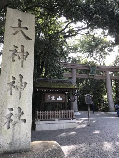 日本最大のパワースポット大神神社へ(三輪明神)
