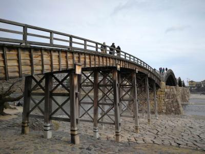 宮島から岩国 錦帯橋まで足を延ばしました!2019年2月