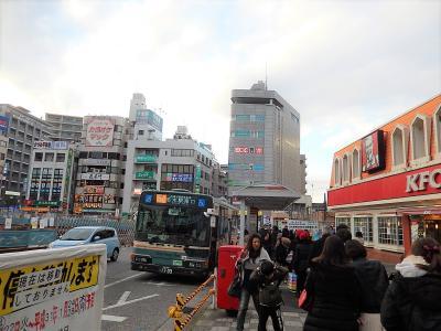 志木駅南口付近の風景