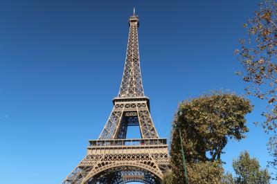 初ヨーロッパ・パリ