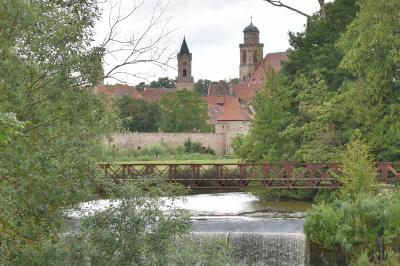 2016年 ドイツの旅(7)ディンケルスビュ-ル 時の流れが緩やかな中世の街を散策