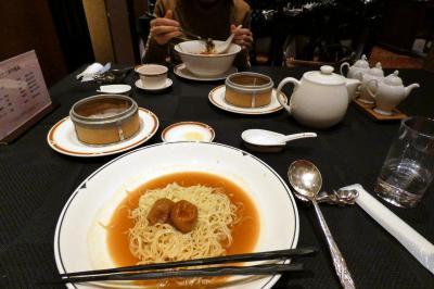 16.年越しのエクシブ山中湖3泊 中国料理 翠陽の昼食 ラウンジ ドルチェの喫茶