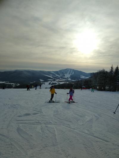 2019年2月・菅平高原スキー~おしゃれな軽井沢&アイススケートも楽しみました★~