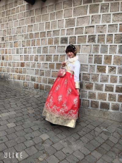 娘と行く二月のソウル…チマチョゴリ旅
